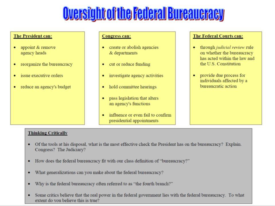 The Bureaucracy  Social Studies help