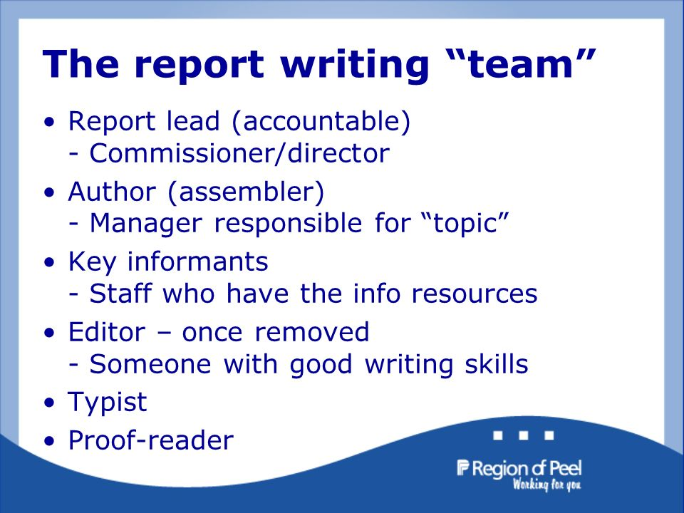 how to write a good report the kiss principal in action great  9 the report writing ""