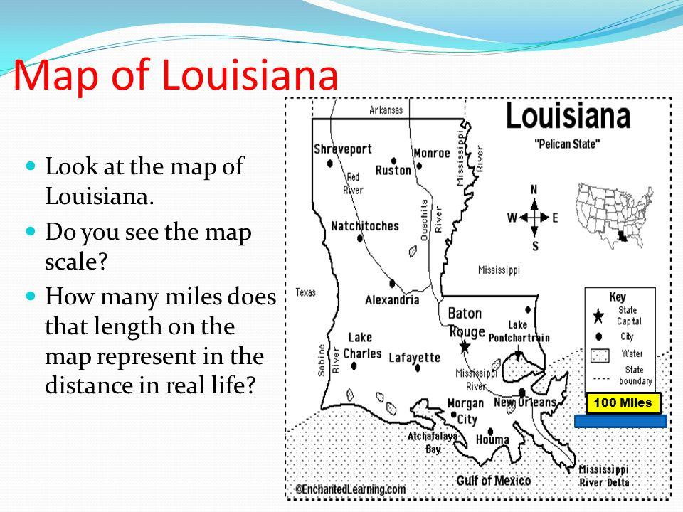 State map key symbols