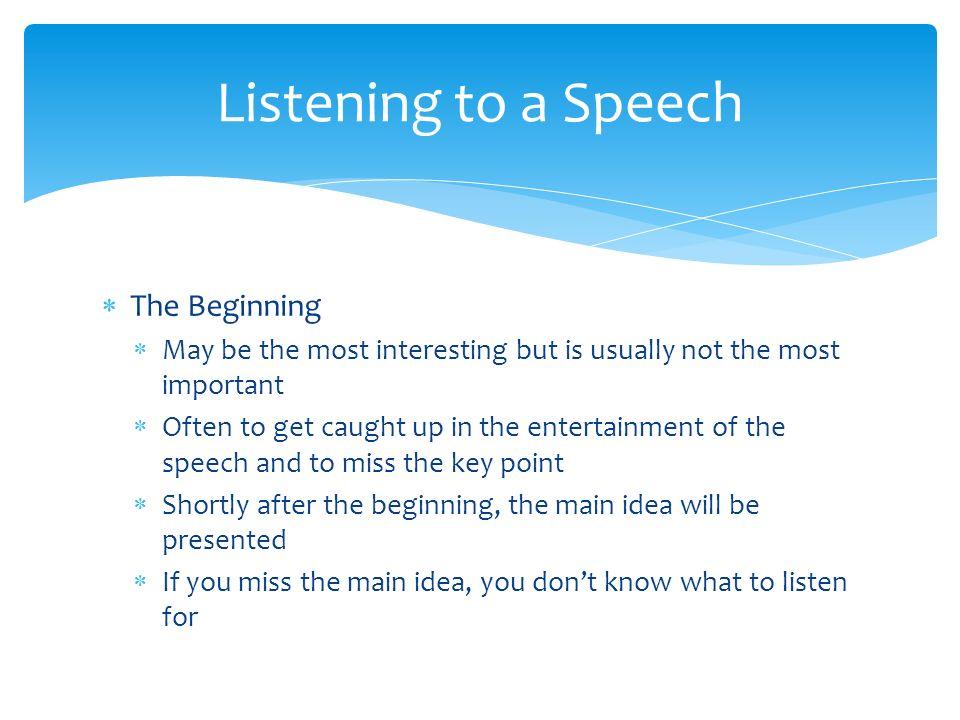 Listening Process (Pt. 2) Ch. 4