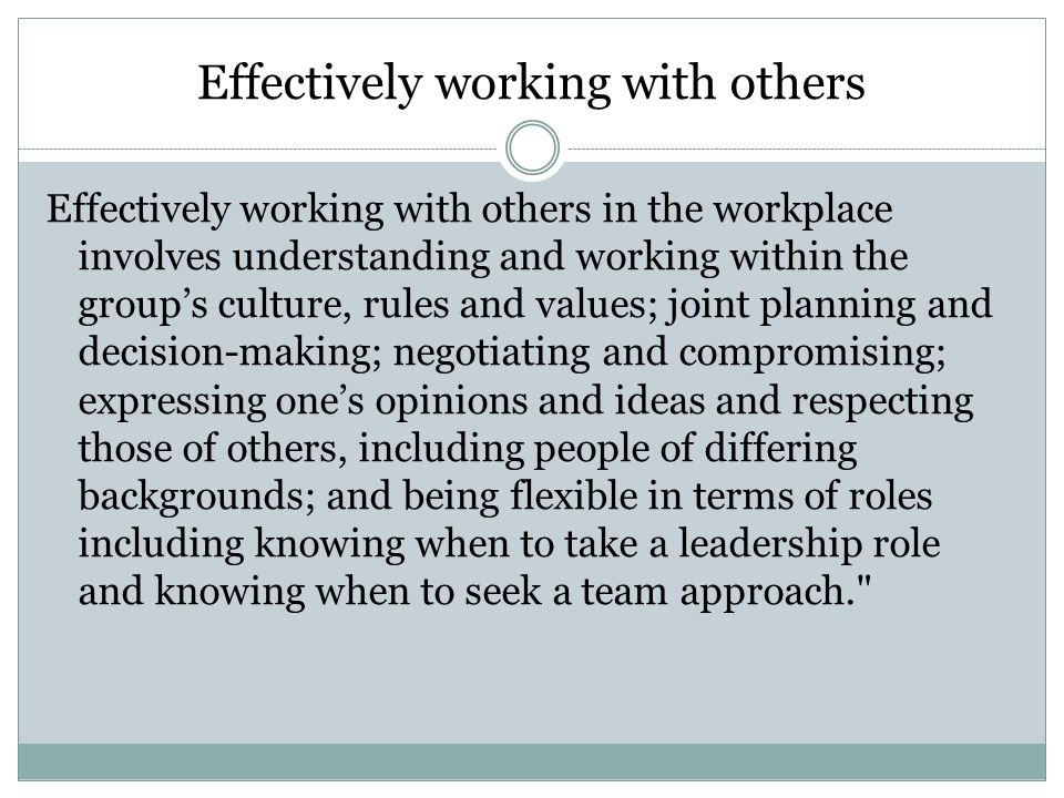 Teams & Groups Group  Two or more people who interact with each other to accomplish certain goals or meet certain needs.
