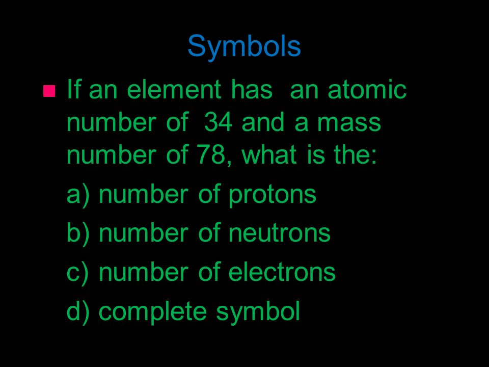 Distinguishing Atoms Chapter 4 Section 3 Atomic Number Atoms Are