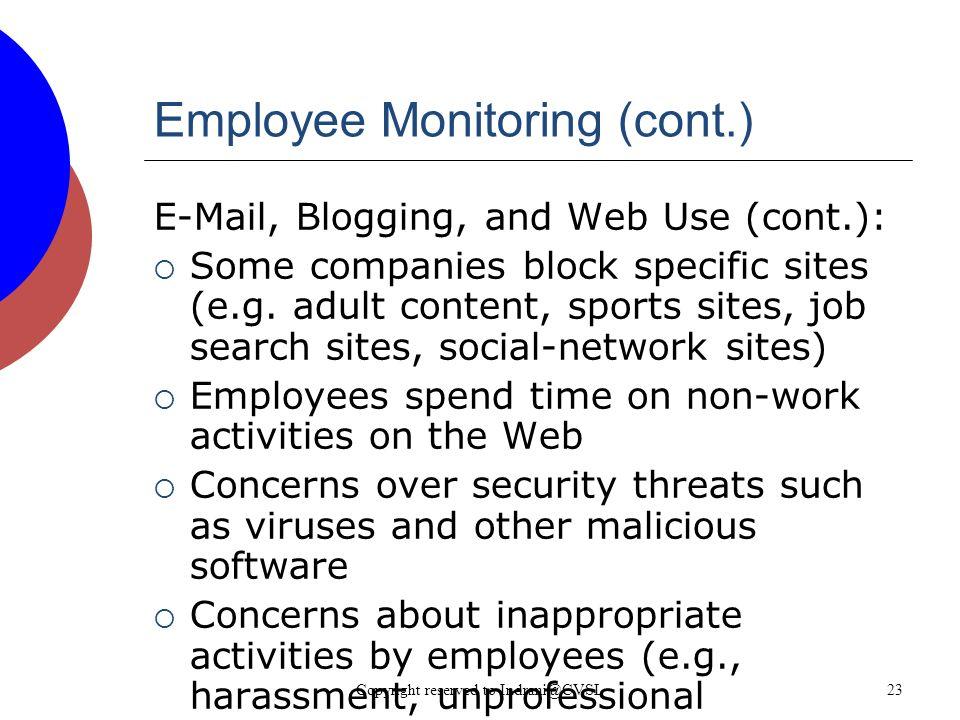 23 Employee Monitoring ...