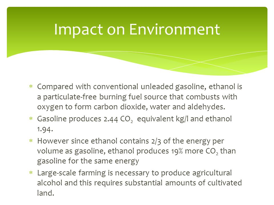 Ethanol Fuel (Corn, Sugarcane, Switchgrass) Blake Liebling. - ppt ...