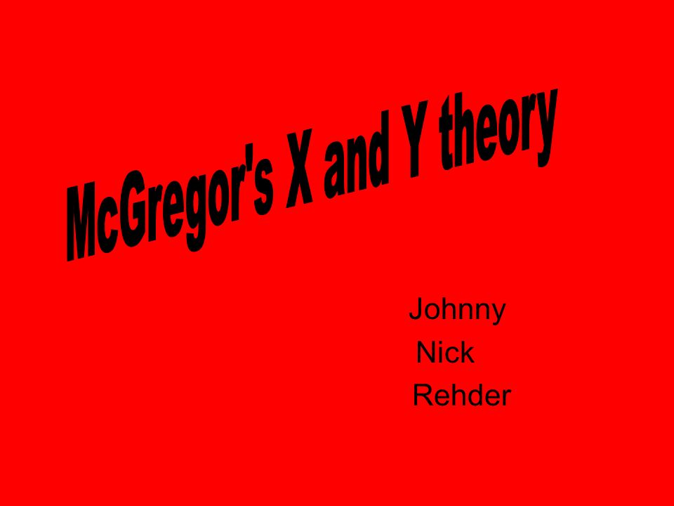 Johnny Nick Rehder