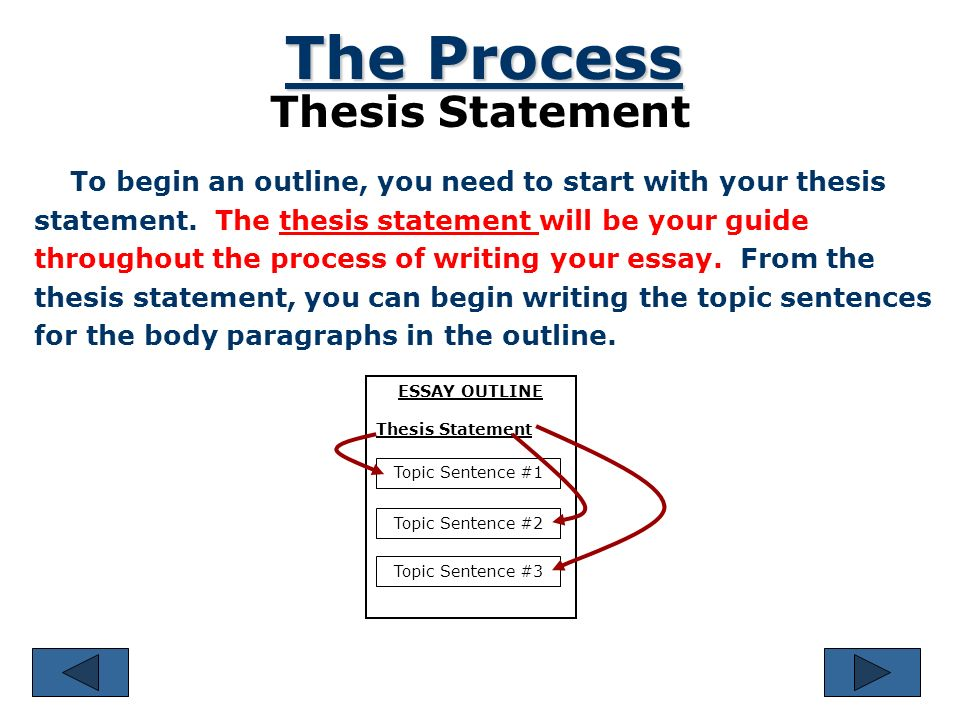 Hook For Thesis Statement Essay