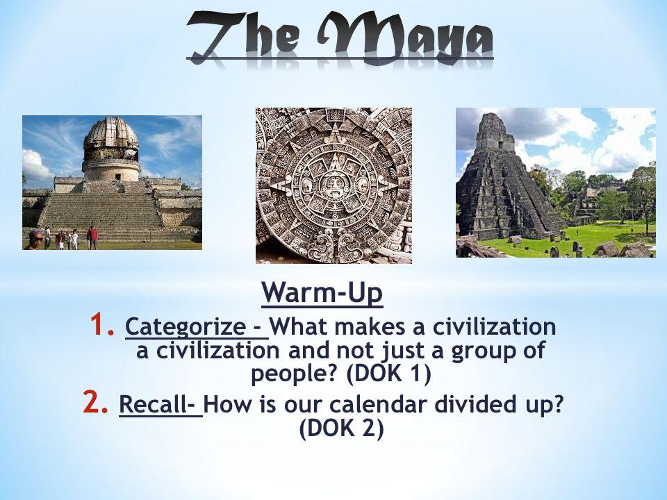 what makes up a civilization