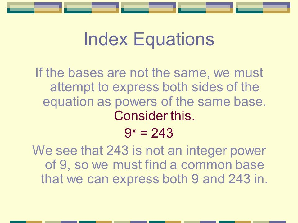 Welcome to Year 11 Mathematics B Term 3 Topic 5: Exponential ...