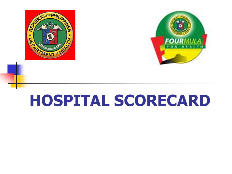 HOSPITAL SCORECARD