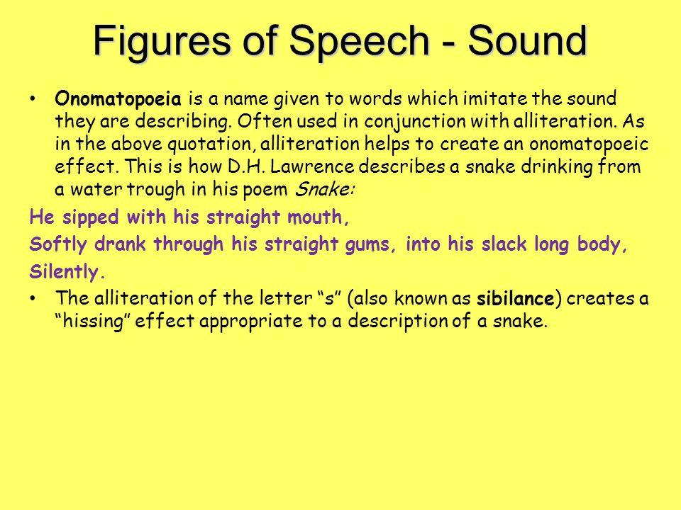 figures of speech essay