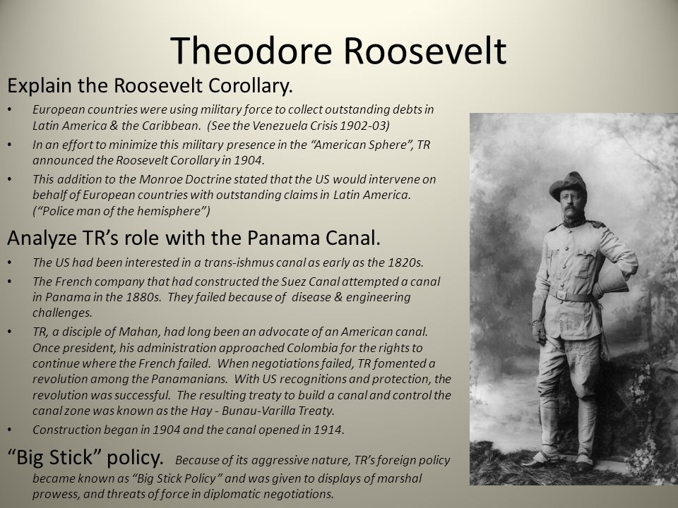 an analysis of teddy roosevelt and the panama canal