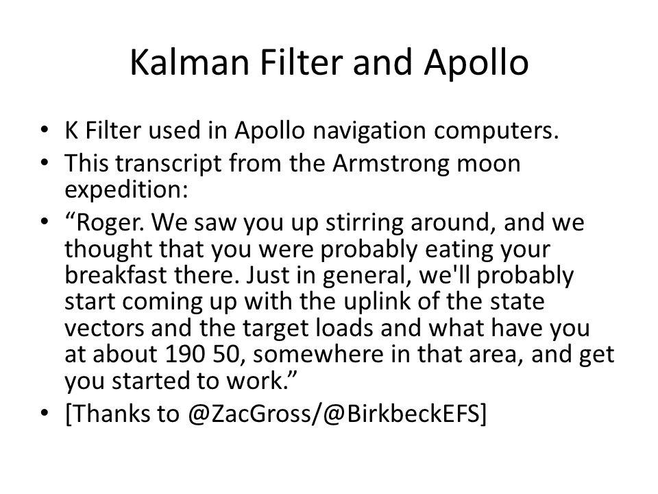 phd dissertation on kalman filter
