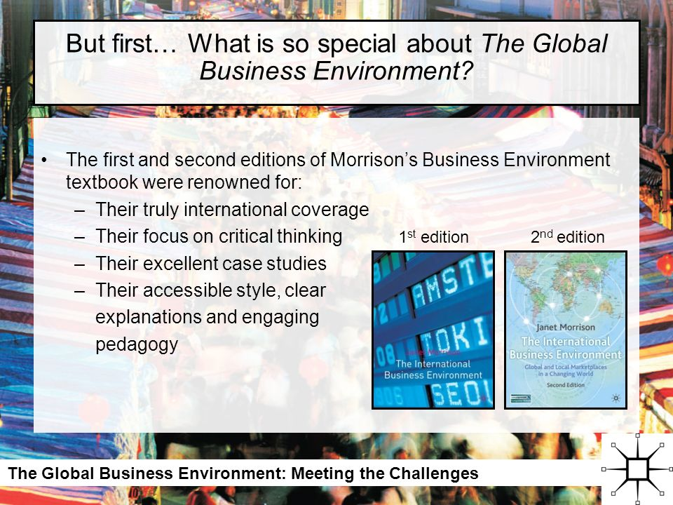 challenges in the global business environment Bus 475 assignment 2 challenges in the global business environment.