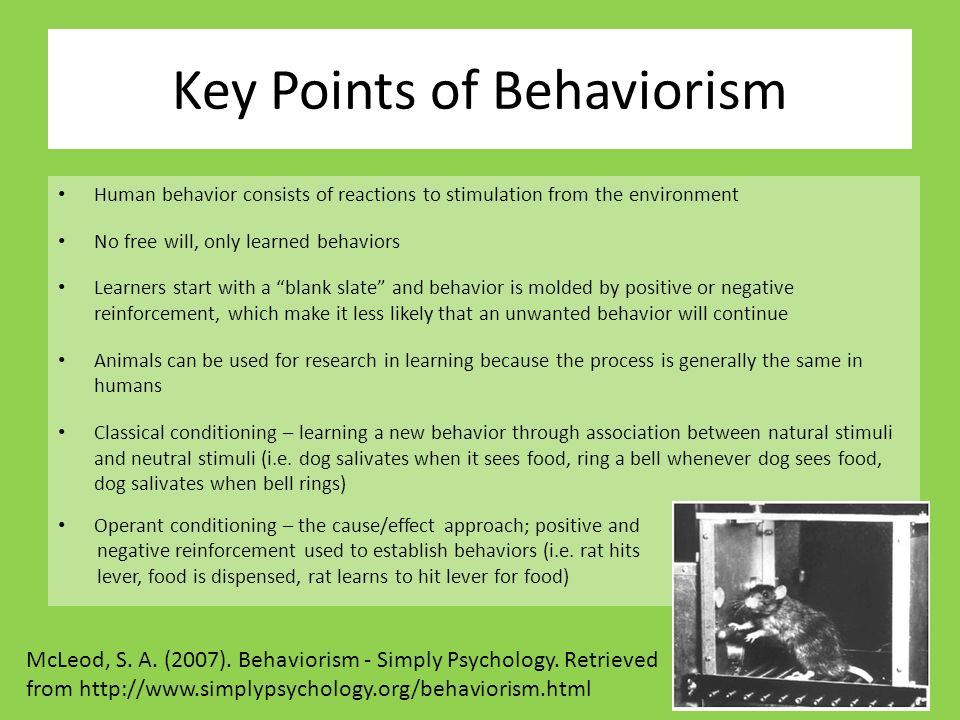 behaviorism and free will B f skinner's entire system is the behavior occurring just until you can finally imagine the tarantula while remaining perfectly tension-free.