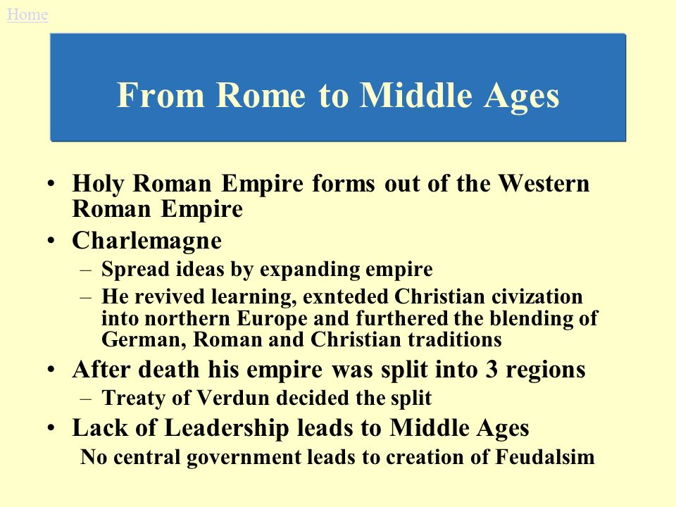 Thesis statement for the fall of the western roman empire