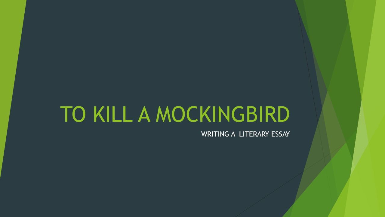 to kill a mockingbird writing a literary essay stages in the  1 to kill a mockingbird writing a literary essay
