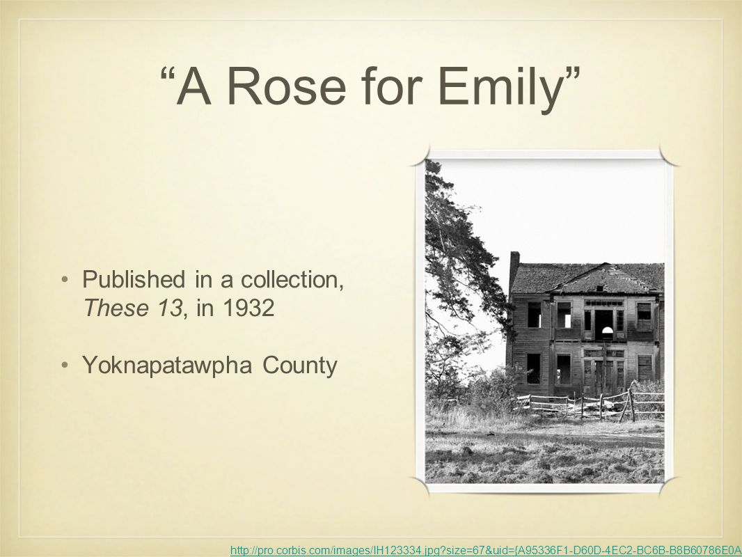 William faulkners a rose for emily southern gothic ppt download 4 a rose for emily buycottarizona