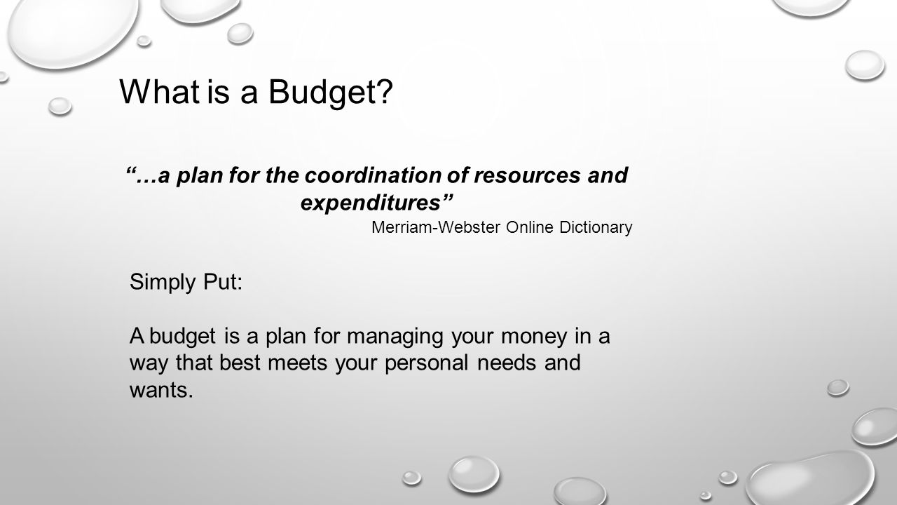 personal budgeting online