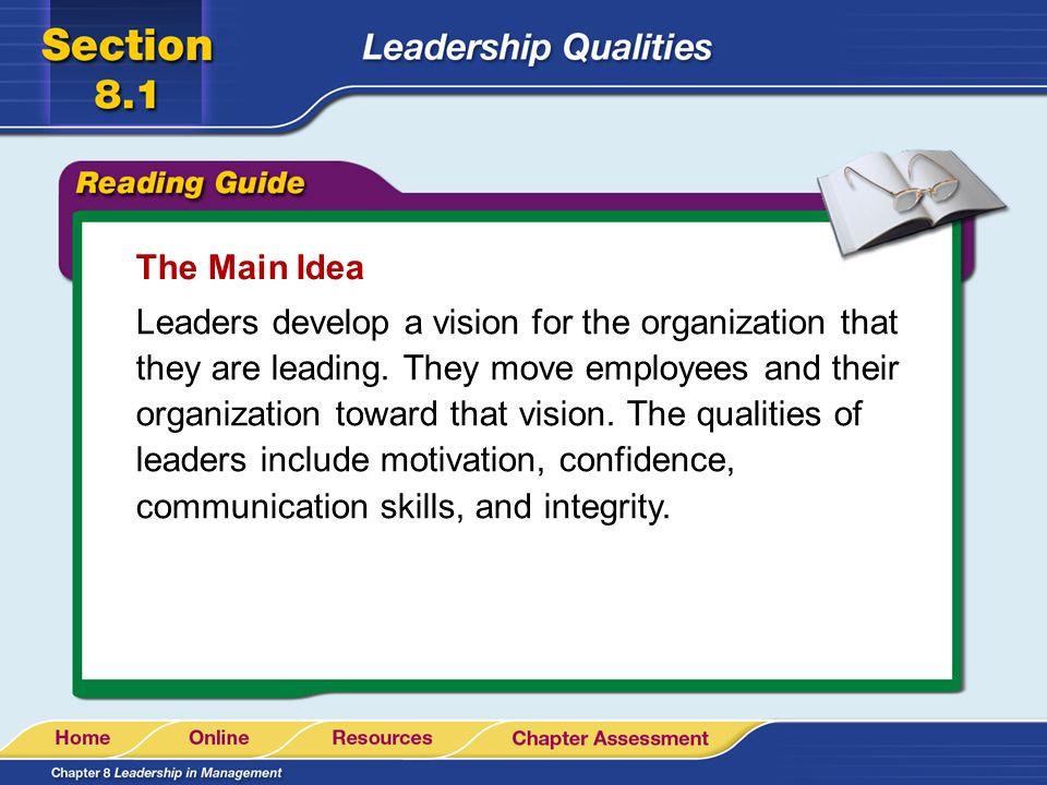 how to describe leadership