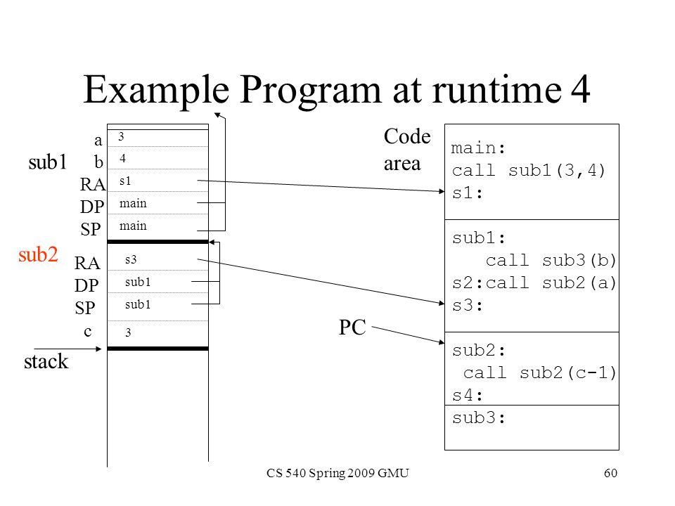 Lecture Procedures Functions CS George Mason University - 540 area code