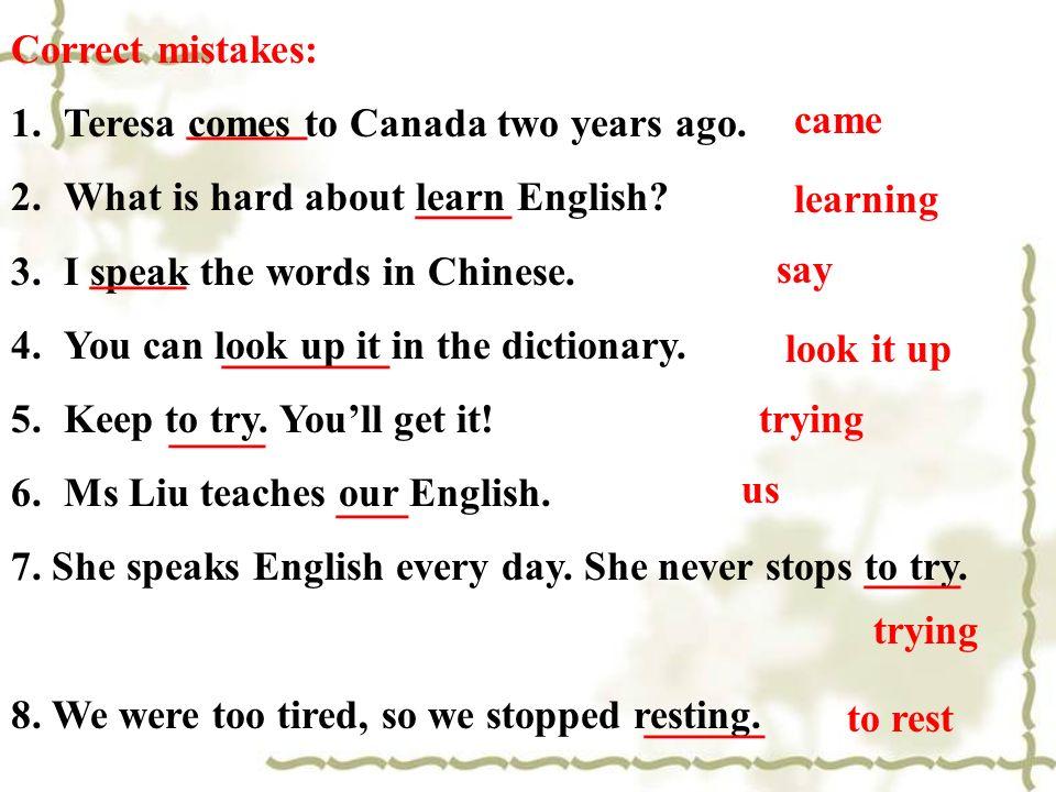 Copyright 2004-2009 版权所有 盗版必究 汉译英: 1) 六年前他教我们数学。 2) 妈妈每天教我写字。 3) 我不知道什么时候将离开。 4) 学英语最好的方法是什么? Mother teaches me to write every day.