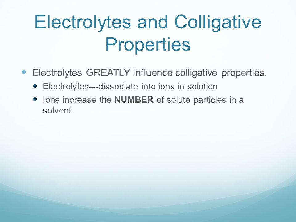 Colligative Properties ppt download – Colligative Properties Worksheet