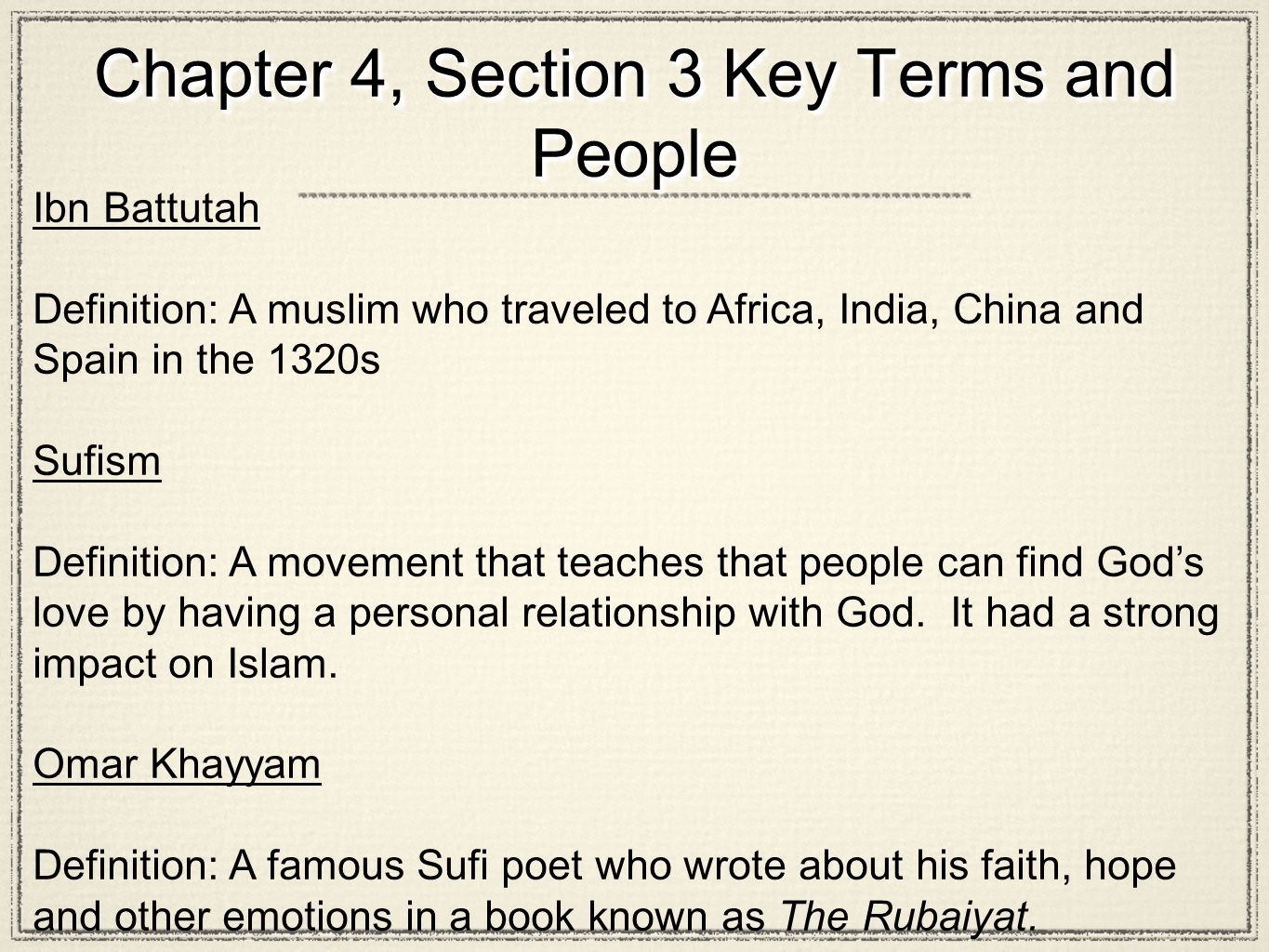 key terms and people chapter 15 Welcome to creating america want to become an american history expert with all the exciting resources, activities, and links right at your fingertips, you're well on your way.