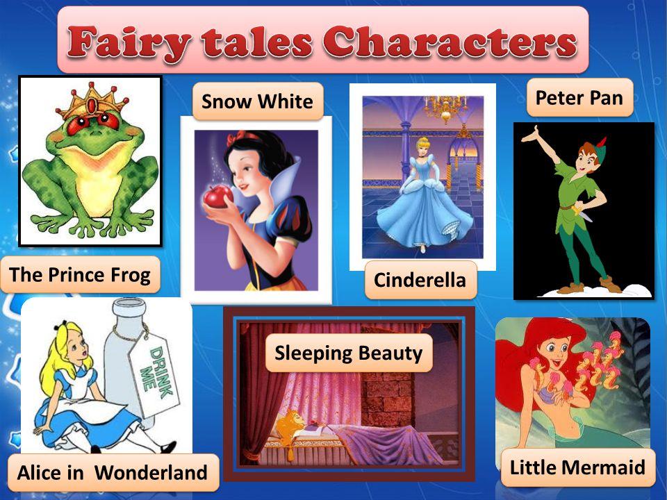 3 The Prince Frog Sleeping Beauty Alice In Wonderland Peter Pan Cinderella Snow White Little Mermaid