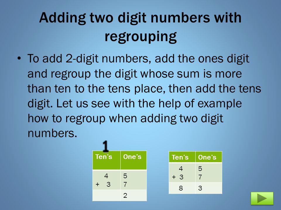 3 Digit Addition  Free Math worksheets Free phonics