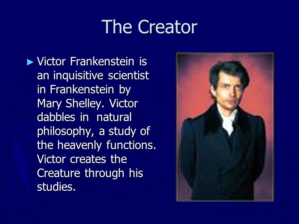 the creators fault in frankenstein by mary shelley Mary shelley is known for her famous horror novel, frankenstein , and for her tumultuous marriage to epic poet percy bysshe shelley learn more at biographycom.