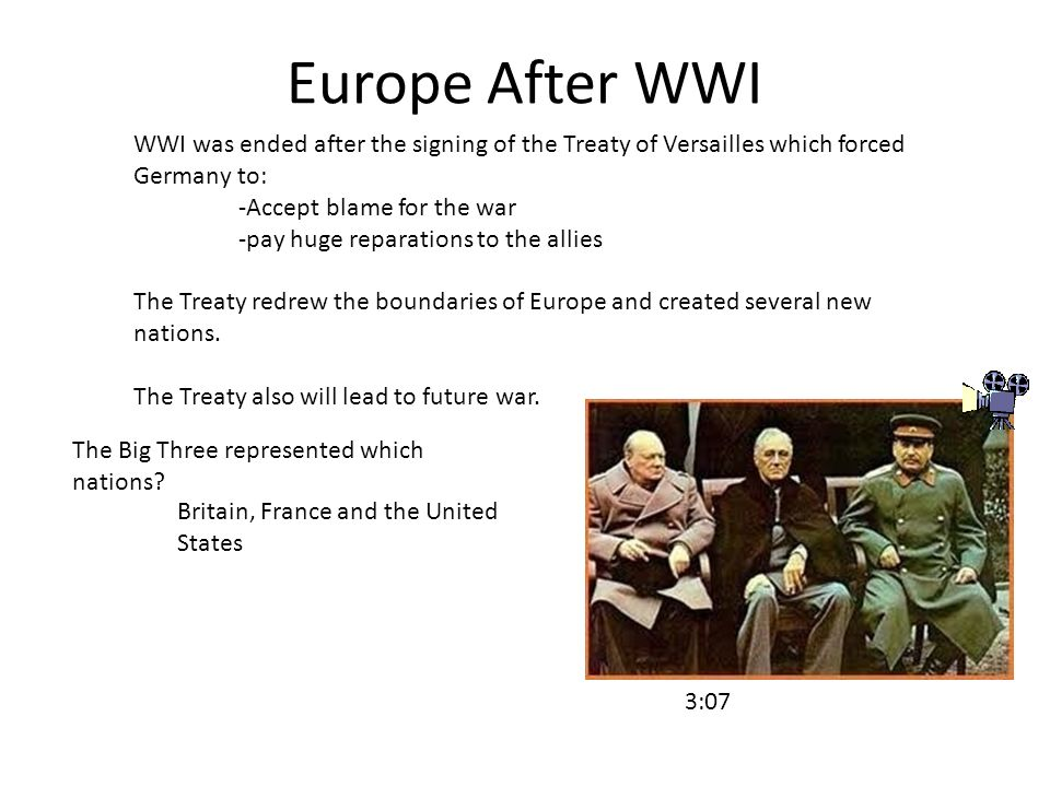 an introduction to the histor of germany after the treaty of versailles German history more than 2,000 it repudiated the treaty of versailles in 1935 the huge numbers that streamed into west germany after east germany opened its.