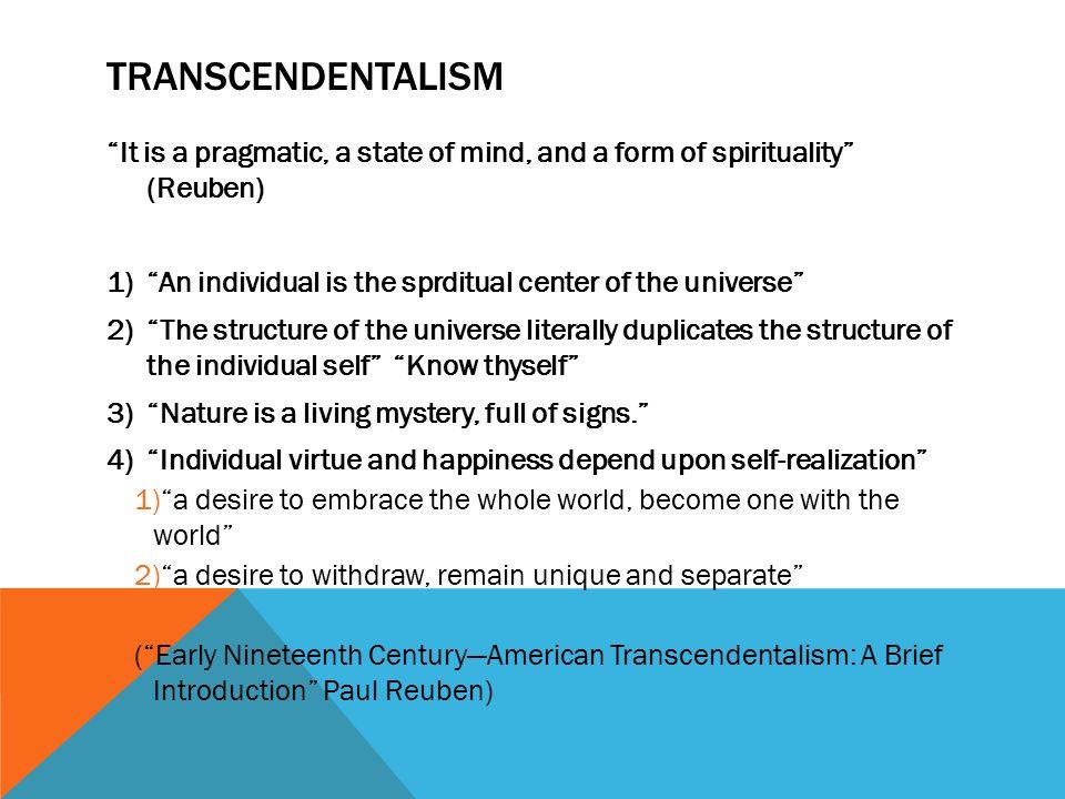 transcendentalism dead poets society
