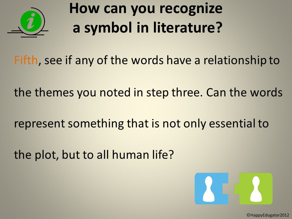 what is symbolism understanding symbolism in literature ppt  how can you recognize a symbol in literature