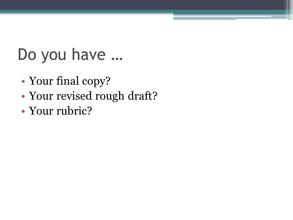 definition essay final draft