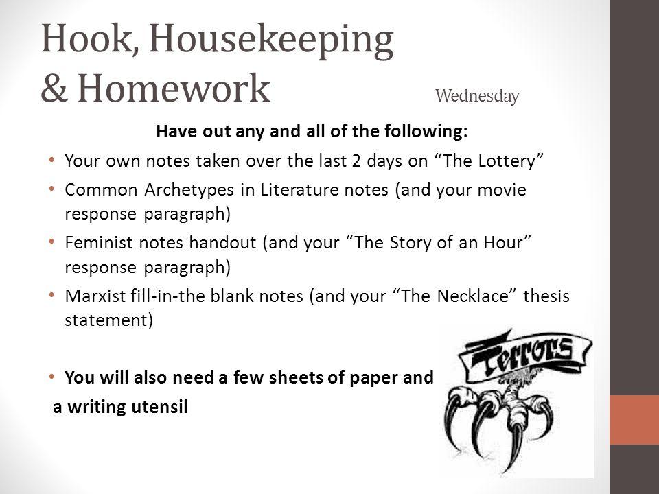 housekeeping thesis Myhaccedu.