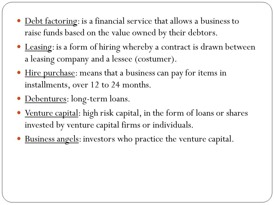 3.1 Source Of Finance. Introduction Businesses Need Money To