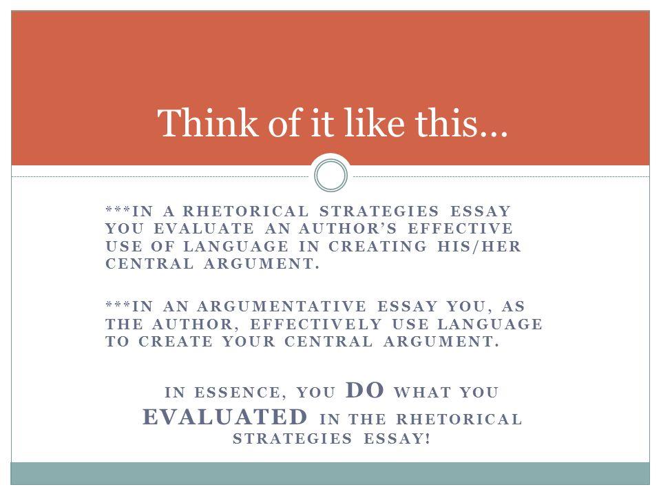 argument essay structure