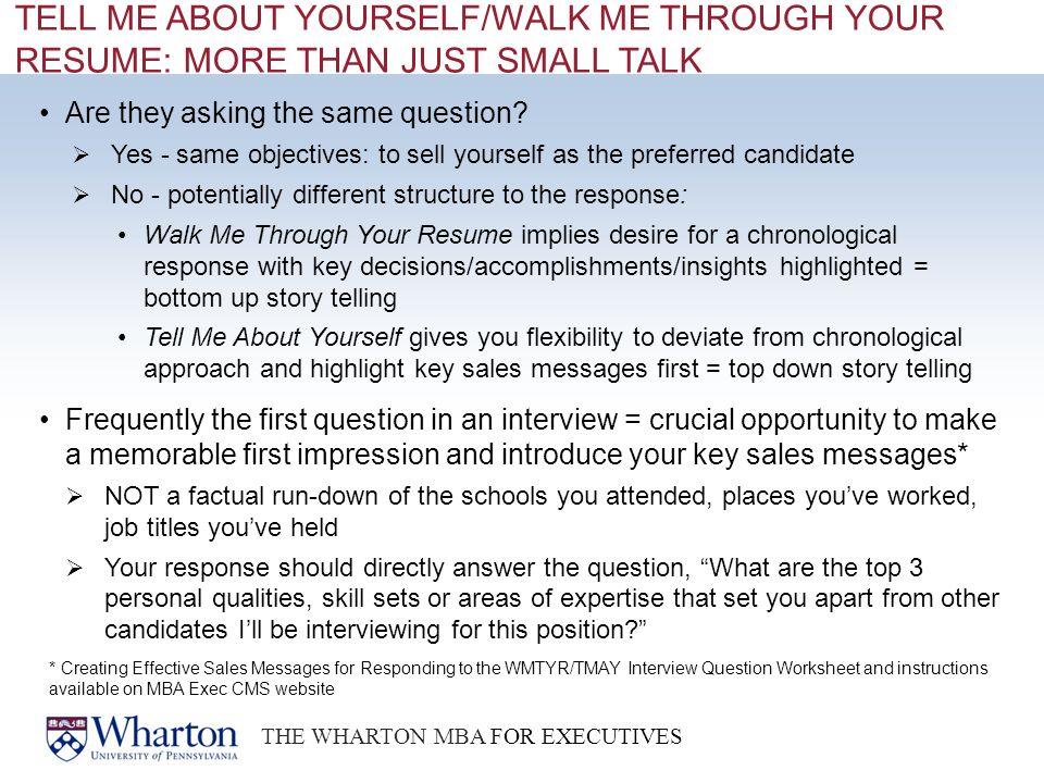 stunning walk me through your resume contemporary simple resume