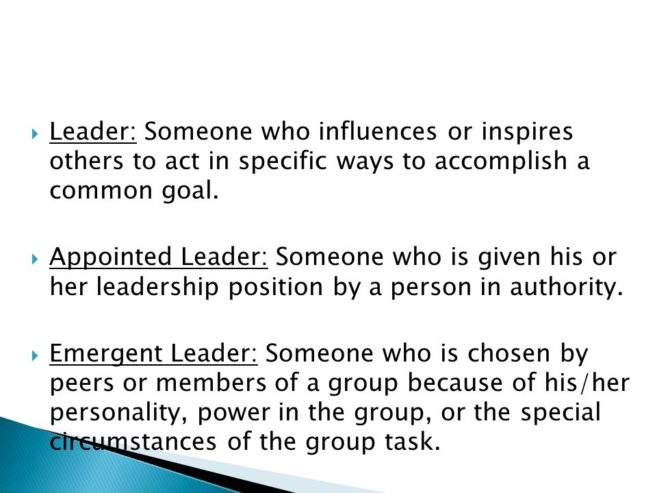  Trait Approach: the idea that leaders share certain personality traits that help them lead successfully.