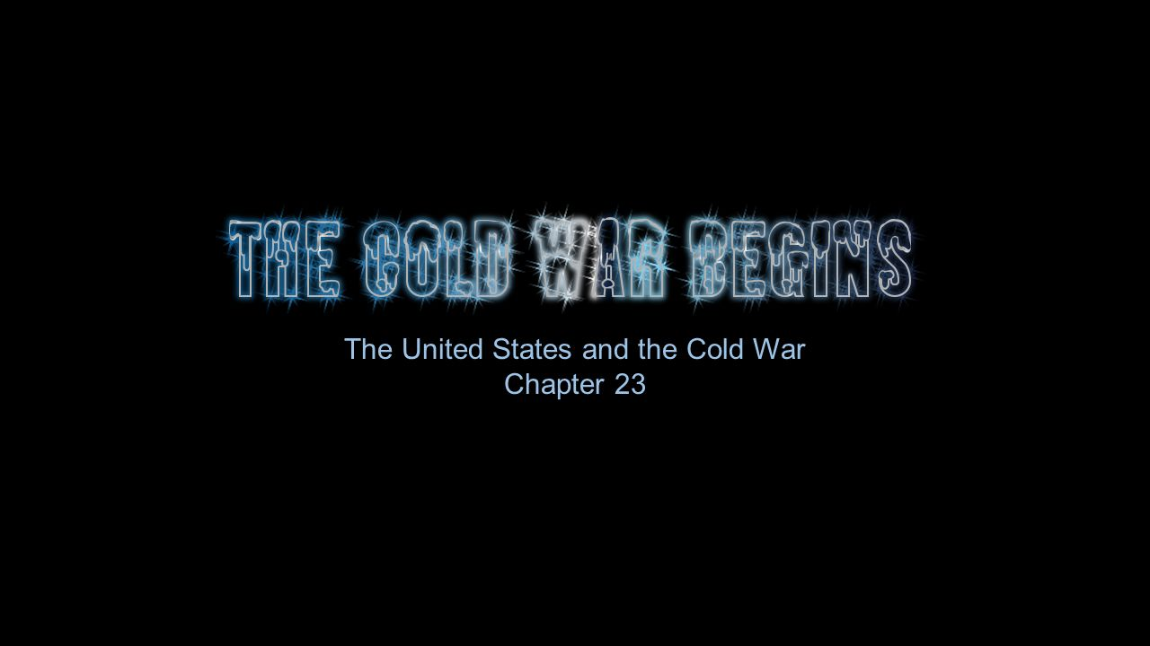 Cold War! How did U.S. contribute tensions to U.S.S.R. to start the cold war?
