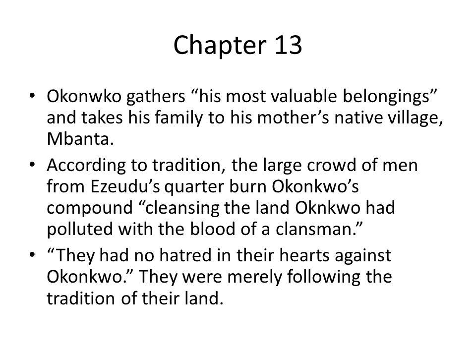 things fall apart did imperialism impact okonkwo s village