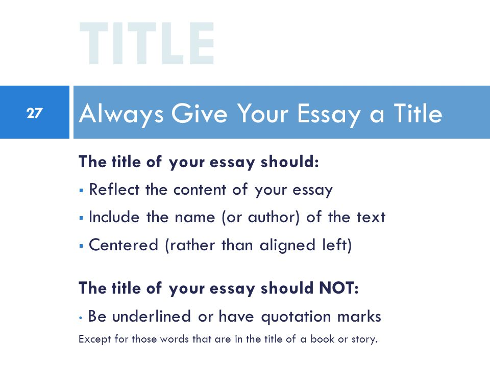 essay titles about change 30 catchy essay titles examples argumentative essay titles examples eye-catching essay titles examples english essay titles examples the the titles of these world-known books of famous authors are the vivid example of how to title an essay to make it attractive from the opening line.