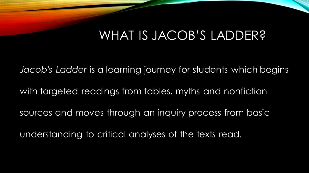 Worksheet Reading Comprehension Program jacobs ladder reading comprehension program north fork elementary what is a learning journey for students which begins with