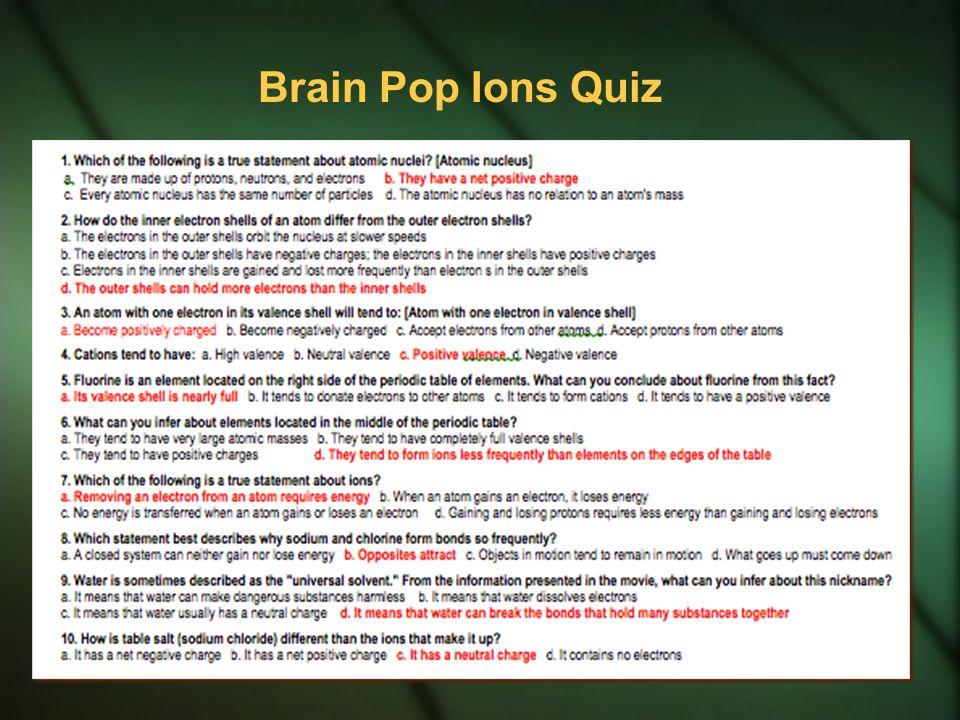 Chemical bonding part 2 ionic bonds brainpop ions click here 3 brain pop ions quiz urtaz Choice Image