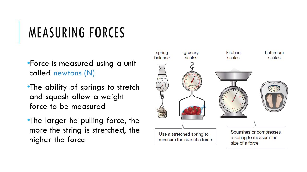 FORCES Chapter 7. WHAT ARE FORCES? A force is a push, pull or ...
