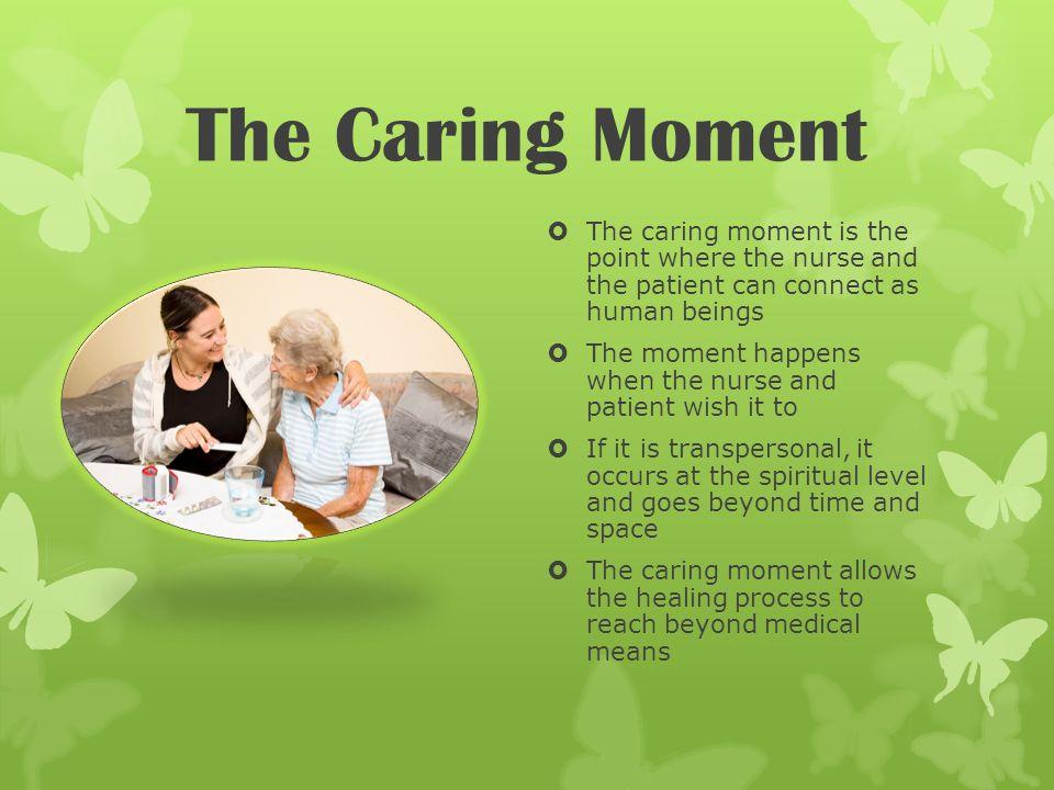 Jean Watson Caring Moment