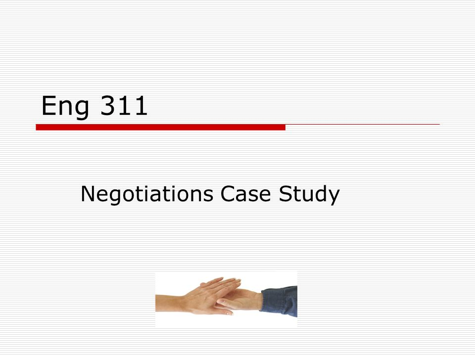 negotiation case studies for students Real life business negotiation cases we hope you enjoy learning from both expert and amateur negotiators in our collection of negotiation case studies.