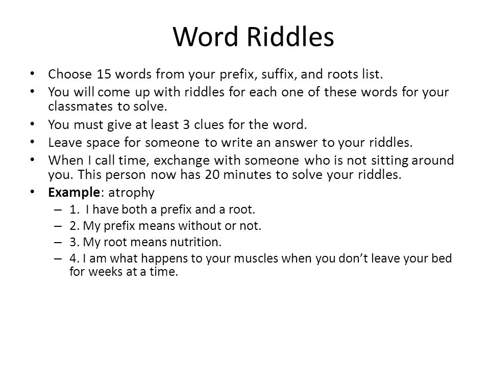 Prefixes and Suffixes Puzzles | Prefixes, Word formation and ...