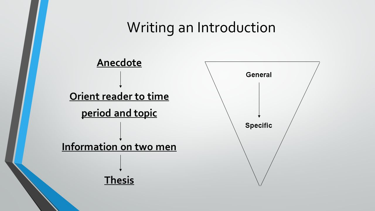 how to write an anecdote