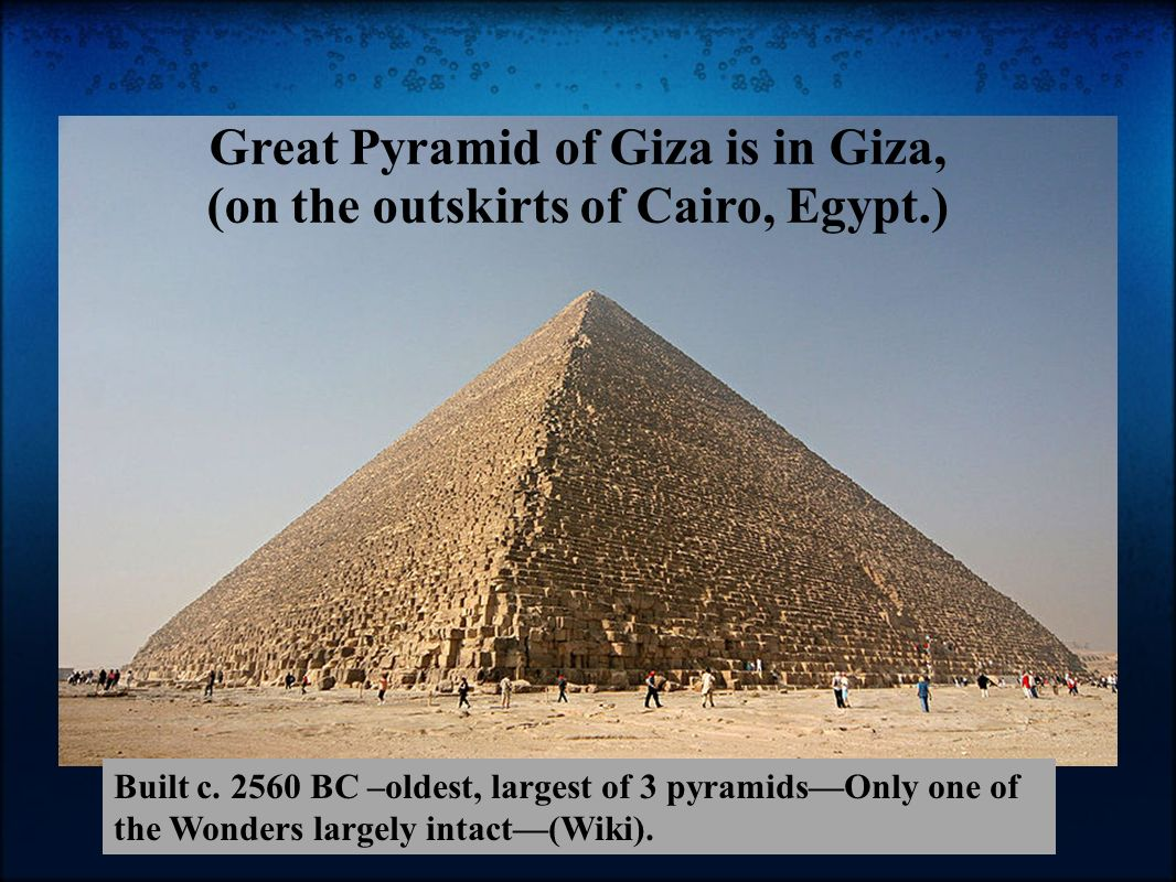 a discussion on how the pyramids of egypt were built How the ancient egyptians really built the pyramids amazing discoveries at egypt's giza pyramids] and the sleds were able to glide more easily across the.